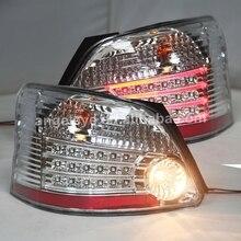 Светодиодный задний фонарь для Toyota VIOS 2008-2011 YZ хромированный корпус
