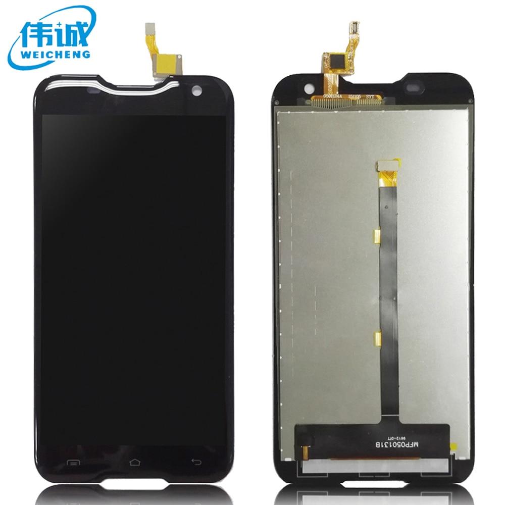 imágenes para Bueno Para Blackview WEICHENG BV5000 LCD Display + Touch Screen Panel Digital Original de piezas de repuesto + herramientas
