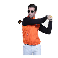 PGM Golf Sportbekleidung Windjacke Weste Wasserdicht Männer Frühjahr Weste Kleidung Licht Radfahren Sleeveless Jacke-in Golfjacken aus Sport und Unterhaltung bei