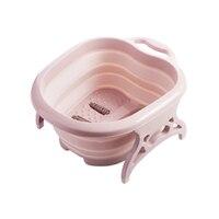 Foldable Footbath Spa Massage Bucket Foot Bath Basin Health Care Washtub Portable Folding Creative Foot Tub Bathroom
