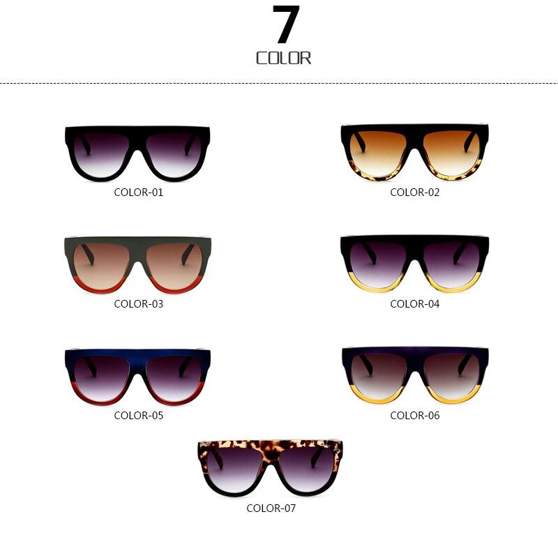 d2b602fc7913 ... RSSELDN Flat Top Oversized Square Sunglasses Women Gradient 2018 Summer  Style Classic Women Sun glasses Big Square Eyewear UV400. Previous. Next