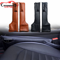 CITYCARAUTO Car Interior Accessories PU Leather Card Holder Mobile Stowing Tidying Seat Storage Box Bag For