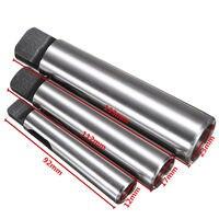 3pcs Mayitr Morse Taper Adapter MT1 To MT2 MT2 To MT3 MT3 To MT4 Reducing Drill