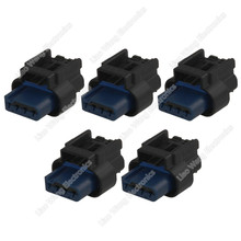 цена на 5 Sets 4 Pin female automotive connector harness connector WPT-1309 with terminal DJ7045-1-21