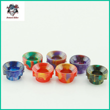 Demon Killer Drip Tips Epoxy Resin Drip Tip Wide Bore Mouthpiece for Kennedy24 Battle Goon RDA Atomizers  528 Style B  1pcs
