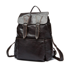 купить Fashion Backpack Designer Casual School Bag For Student Designer Unisex Daypack Simple Genuine Leather Large Packsack Women Men  по цене 3654.51 рублей