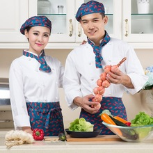 M-3XL Plus Size Hotel Chef Uniform New Arrival Chef Wear Long Sleeved Restaurant Kitchen Work Clothes Baker's Jacket B-5589