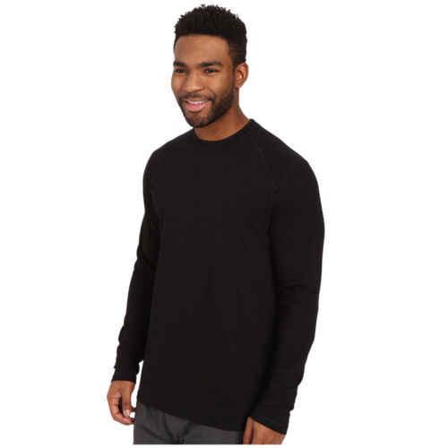 Hirigin мужская приталенная Повседневная рубашка с длинным рукавом серого и черного цвета с круглым вырезом из хлопка мужские мягкие футболки топы
