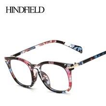 HINDFIELD роскошные очки оправа женские брендовые дизайнерские винтажные Ретро оптическая оправа для очков женские высококачественные oculos de grau