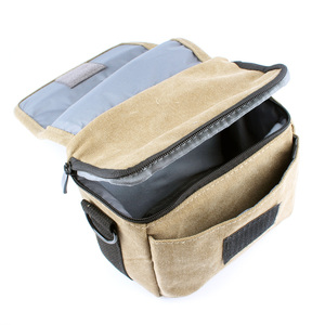 Image 3 - Canvas Camera Bag Case Cover For Sony Alpha A7 Mark II S R A77 A7III A6500 A6300 A6000 A5100 NEX6 H400 HX400 HX300