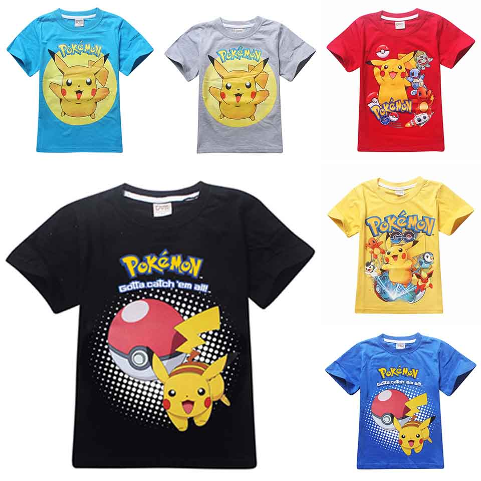 Online Get Cheap Pokemon T Shirts
