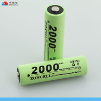 In 1.2V 2000mAh No.5 AA Ni MH rechargeable battery electric shaver shaver digital camera Rechargeable Li ion Cell