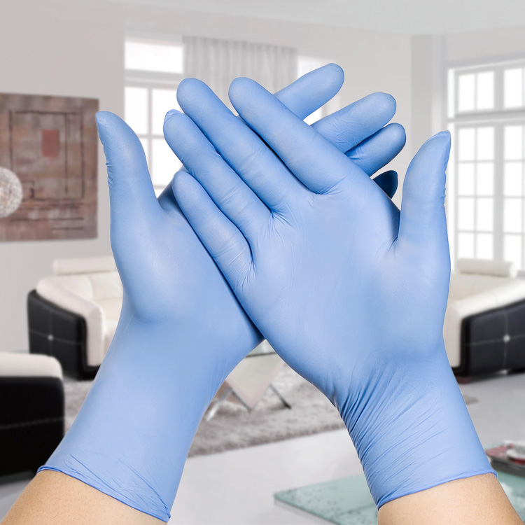 2PC Ultra Thin Household Cleaning nitrile gloves Medical Disposable Tatoo Mechanic Laboratory repair Powder Free latex rubber fwpp disposable nitrile gloves medical grade powder free latex free disposable non sterile food safe s m l black 50 pcs