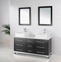 2017 мебель для ванной комнаты/оптовая/новый стиль деревянный тщеславия/твердый деревянный шкаф ванной комнаты