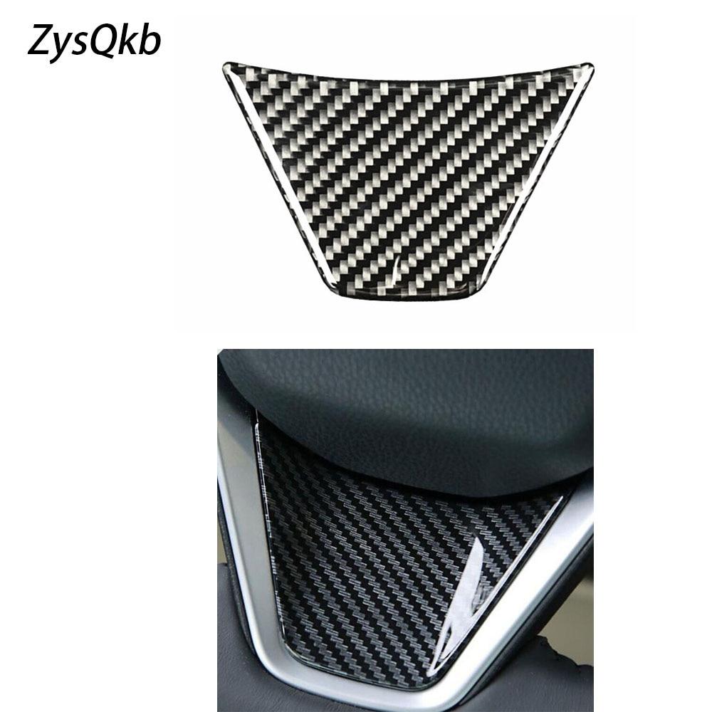Carbon Fiber Styling Steering Wheel Decoration Trim Sticker Interior Accessories For Toyota Camry 2018 L LE SE XLE Sedan Car Stickers  - AliExpress