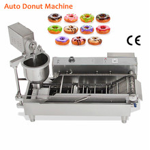 Auto Donut Machine Stainless Steel Commercial Electric Cake Donuts Maker High Productivity Doughnut Euipment 220V/110V цена 2017