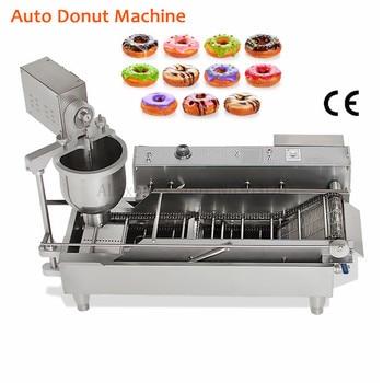 цена на Auto Donut Machine Stainless Steel Commercial Electric Cake Donuts Maker High Productivity Doughnut Euipment 220V/110V