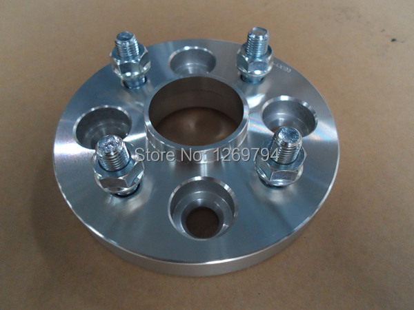 Wheel Spacers / Adapters  15MM Thickness  PCD 4x100 To 4x100 CB54.1 Wheel Studs M12X1.5