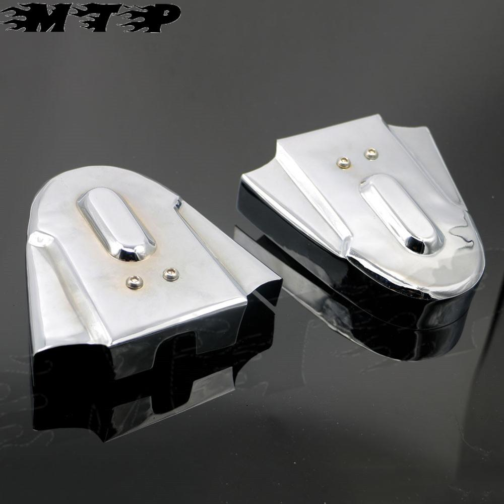 Chrome Metal Faring Rear Wheel Frame Cover For Honda Steed 400 VT400 VLX400 Shadow VT600 Motorcycle Part Accessories New Arrived