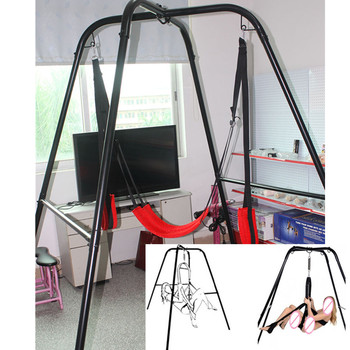 High Quality Metal Frame Sex Swing Adult Game Flirting Sex Products Swings Sex Furnitures Sex Toy for Women E5-3-1