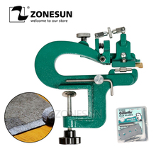 Device-Kit Splitter ZONESUN ER809G 35mm-Width Peeler Skiver Vegetable Tanned Paring Max