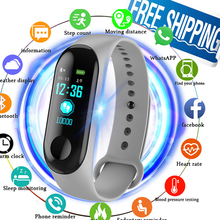 2019 New Smart Sports Watches Color Screen Pedometer fitness Bluetooth Smartwatch For Men