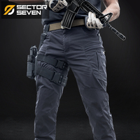 2017 New IX8 Waterproof Tactical War Game Cargo Pants Mens Silm Casual Pants Mens Trousers Army