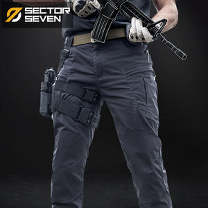 Mens Trousers Active-Pants Game Military Army Waterproof War Silm IX8 Casual