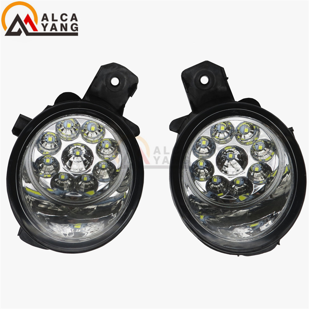 Malcayang Devil Eyes Car styling LED / Halogen Fog LIGHT Lights drl Refit 55W For NISSAN X-TRAIL (T30) 2001-2006 for nissan x trail t30 2001 2006 car styling led light emitting diodes drl fog lamps