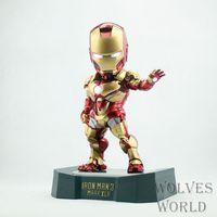 Egg Ataque Iron Man Mark 42 Movie Action Figure Collectible Modelo Toy Frete Grátis