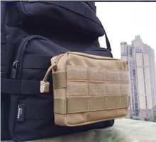 цена на Hot Tactical Molle Waist Bags  Casual Dump Pouch Purse medic pouch Mobile Phone Case For Outdoor