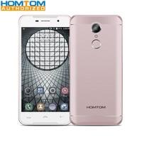 Fingerprint Smartphone Original HOMTOM HT37 Android 6 0 MTK6580 Quad Core 2GB RAM 16GB ROM 5