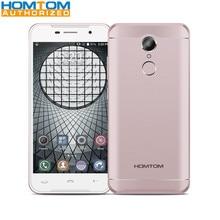 HOMTOM HT37 Android 6.0 MTK6580 Quad Core 2 GB RAM 16 GB ROM 5.0 Pouce 1280×720 D'empreintes Digitales Smartphone 3000 mAh Mobile Téléphone