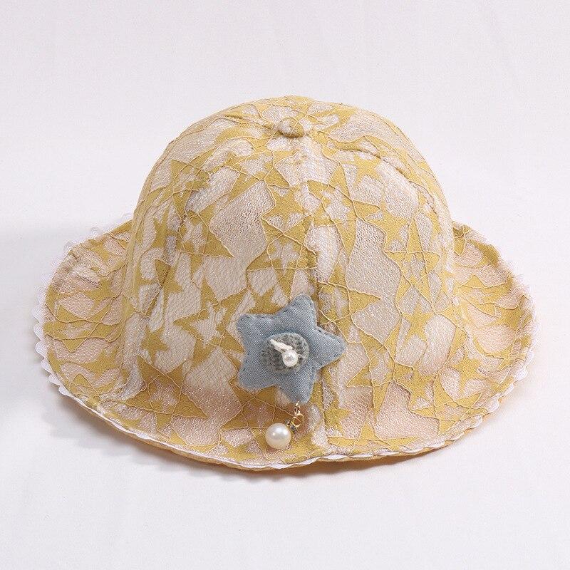 Angemessen Sommer Sonnenhut Für Mädchen Kleinkind Baby Mädchen Spitze Becken Hüte Frühling Kinder Strand Eimer Kappe Kinder Nette Sonnenschutz Kappe Zubehör