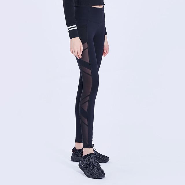 FeelKe New fashion style plus size Women gym high waist leggings