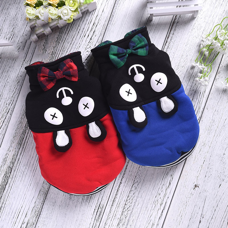 On Sale Cheap Jackets For Dogs Winter Autumn Lovely Pet Doggy Coat Costumes For French Bull Chihuahua Small Breeds Animals Goods