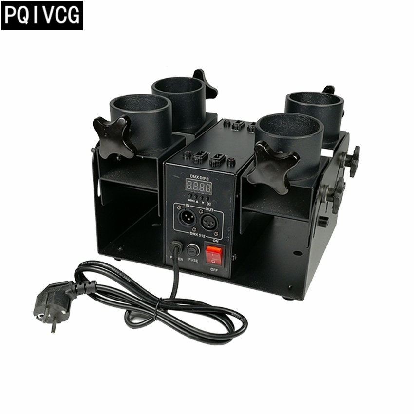 100w Salute Machine dmx512 4 Head Salute Machine professional stage special effects equipment sog salute black