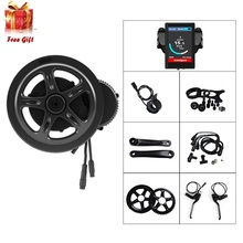 48V 750W Bafang 8Fun BBS BBS02 BBS02B Mid Crank Drive Motor Kit Electric Bicycle Bike Conversion Kit eBike E Bike Geared Engine(China)