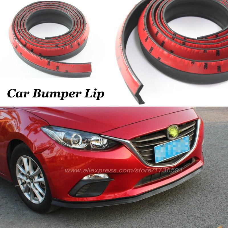 Pour Mazda 2 3 5 6 323 Axela RX-8 Speed6 Protege Avant De la Voiture Bande Bandes/Voiture Lip Déflecteur Lèvres /Kit carrosserie Corps Côté Spoiler