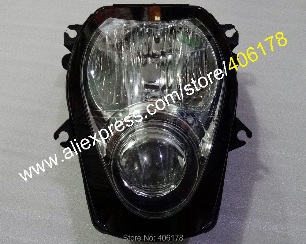 Hot Sales,Front Headlight Headlamp For Suzuki GSXR1300 Hayabusa GSX-R1300 1999-2007 Motorcycle Head Lighting Lamp Assembly Parts black headlight for suzuki hayabusa 1300 gsx1300r 1999 2007 front brand new motorcycle clear light lamp from china