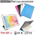 Ультратонкий чехол-подставка из искусственной кожи для Alldocube M5/M5S/M5X 10,1-дюймовый планшетный 5 видов цветов + Защитная пленка + стилус