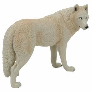Image 3 - Büyük Kurt Heykeli Heykelcik Oyuncak PVC Yaban Hayatı Hayvan Modeli Aksiyon Figürleri Çocuklar için Playset Eğitim Koleksiyon Hediye
