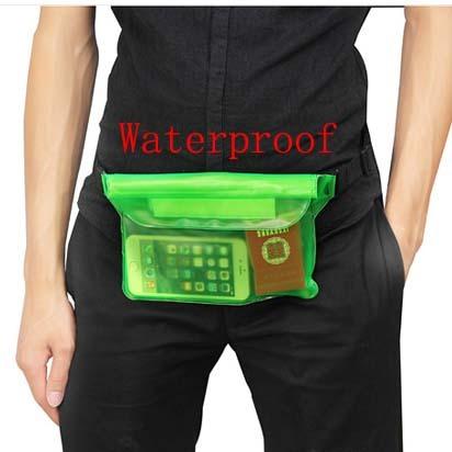 PVC impermeable drift bolsa de viaje Paquetes de La Cintura bolso del teléfono móvil