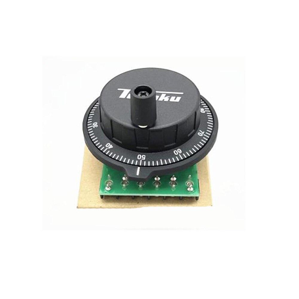 Новый тосоку CNC ручной колесо Pulser 25ppr 100ppr кодировщик RE45T Dia 60 мм для MITSUBISHI SIEMENS FANUC системы 5В 12В MPG