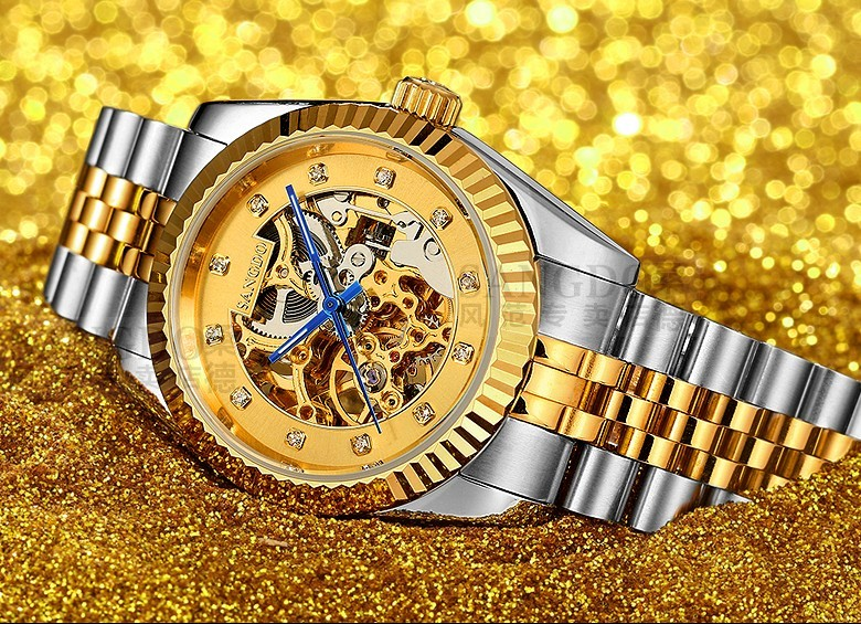 37.5mm Sangdo Luxury watches Automatic Self-Wind movement Sapphire Crystal High quality Mechanical Wristwatches Men's watch 019 original binger mans automatic mechanical wrist watch date display watch self wind steel with gold wheel watches new luxury