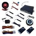 Smartkey PKE Sistema de Alarme de Carro Passiva sistema Keyless da Entrada Central Auto Desbloqueio de bloqueio Push Start Stop com 3 pcs Antenas & Reset interruptor