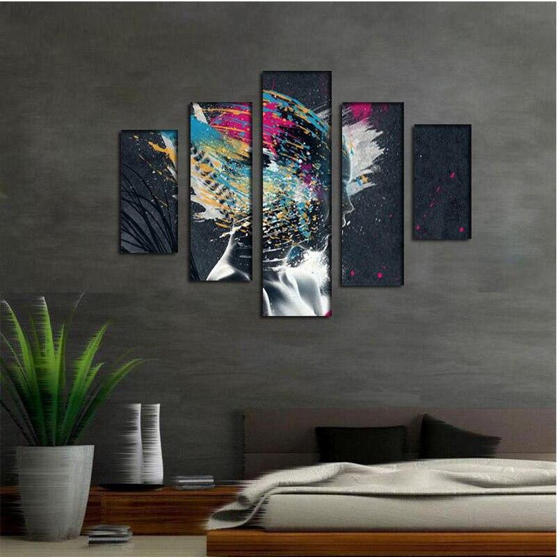 Online get cheap schilderen slaapkamer kleuren alibaba group - Trend schilderij slaapkamer ...
