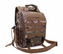 De alta calidad de Camuflaje TAD táctico al aire libre Militar de múltiples funciones del bolso de la computadora de los hombres mochila paquete de excursiones