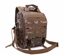High quality Camouflage TAD Military multi-function computer bag men's tactical outdoor backpack hiking pack