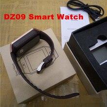 10 teile/los Smartwatch Bluetooth Smart uhr dz09 Armbanduhr für IOS Android Phone Wearable Geräte Sportuhr PK GT08 M26 F69 U8